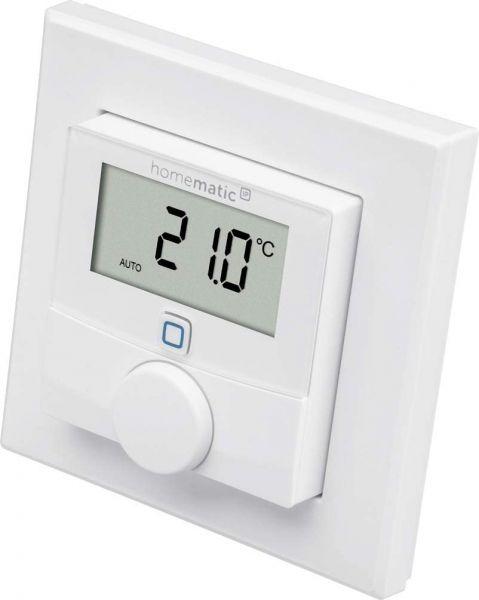 Homematic IP Smart Home Wandthermostat mit Luftfeuchtigkeitssensor